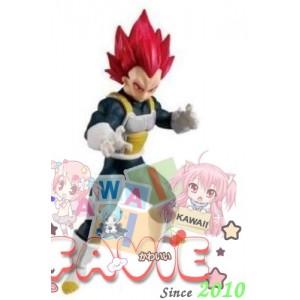 BANDAI-Shokugan-Dragon-Ball-Styling-Super-Saiyan-God-Vegeta-45-Molded-Figure-B07MDZB1FL