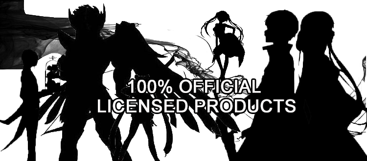 100% official licensed products